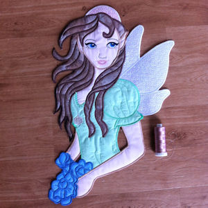 Large Fairy Applique