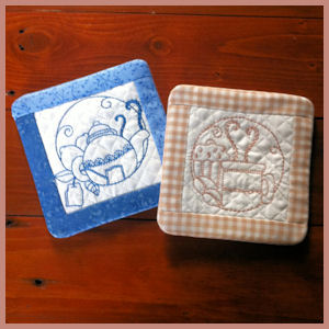 ITH-Square Quilted Coaster