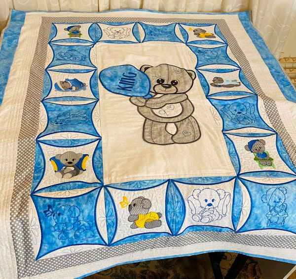 Instant Win - Large Teddy Quilt