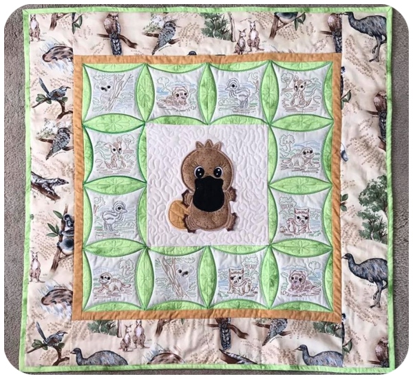 Barbara - Aussie Animals Quilt