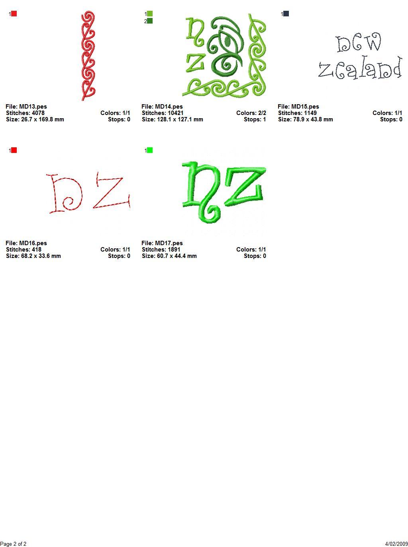 Maori Designs 01