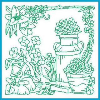 Redwork Machine Embroidery Designs