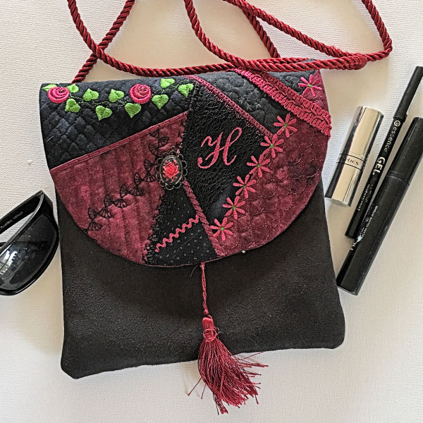 Crazy Patch Bag In-the-hoop