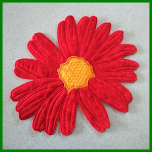 Large Flower Applique