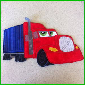 Large Truck Applique