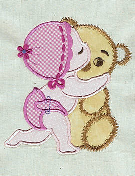 Embroidery Patterns Grunge Embroidery Fonts: Baby Fun 1.50