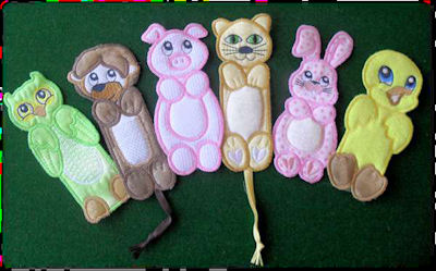 Bookmarks 2 Free Instant Machine Embroidery Designs