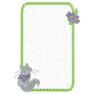 the stippled and applique frame designs are great for using on pre made items tote bags towells etc or get creative and make a lovely notebook cover