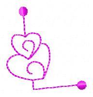 Heart Alphabet  A Alphabet Design In Heart