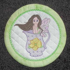 Coasters Placemats Free Instant Machine Embroidery Designs